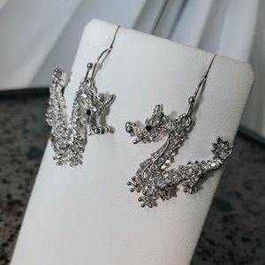 Jewelry - Traditional-Style Dragon Earrings